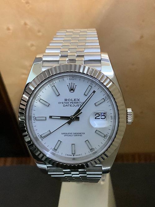 Rolex Datejust - White 2020