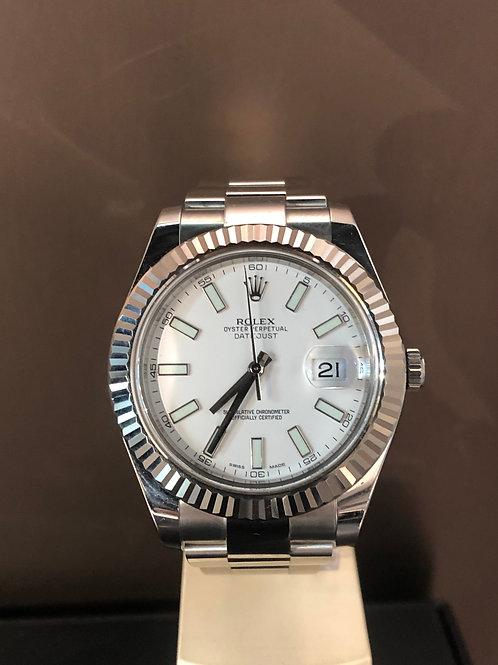 Rolex Datejust II - Weiss