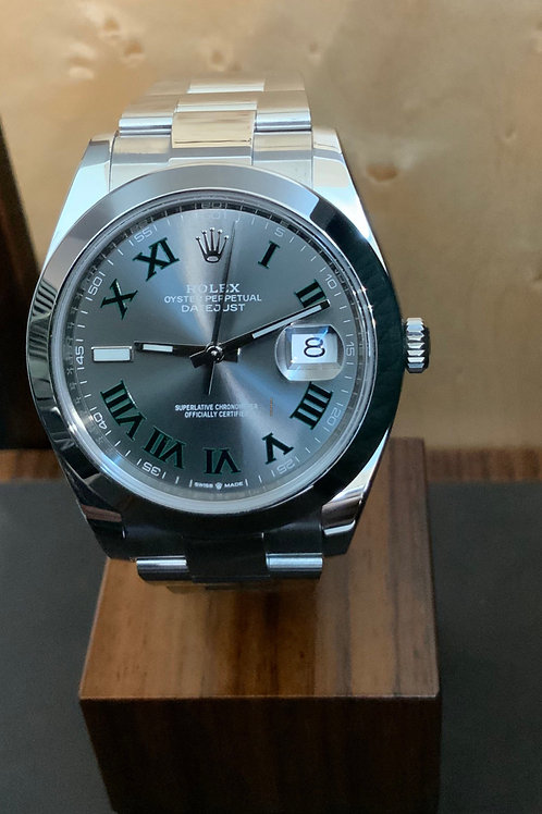 Rolex Datejust Rhodium - 2018