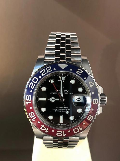 Rolex GMT-Master II LC EU - PEPSI