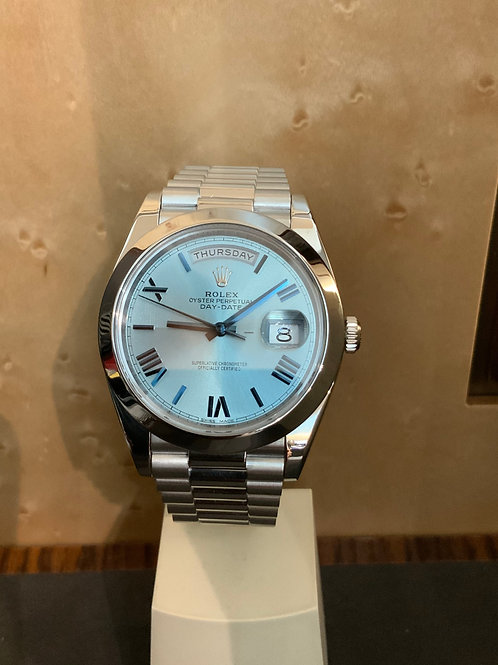 Rolex Day-Date 40 - PLATIN