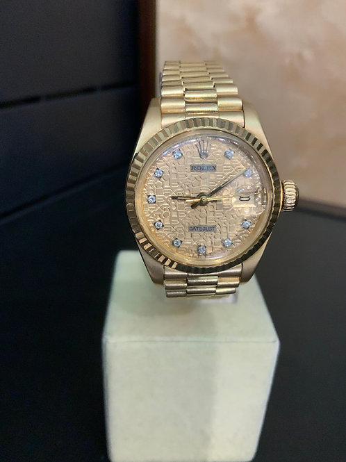 Rolex Lady-Datejust Diamond-Digital-Dial