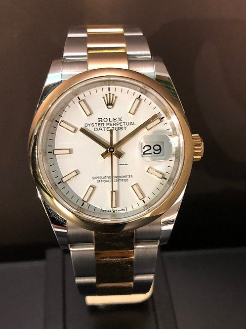 Rolex Datejust Bicolor LC 100