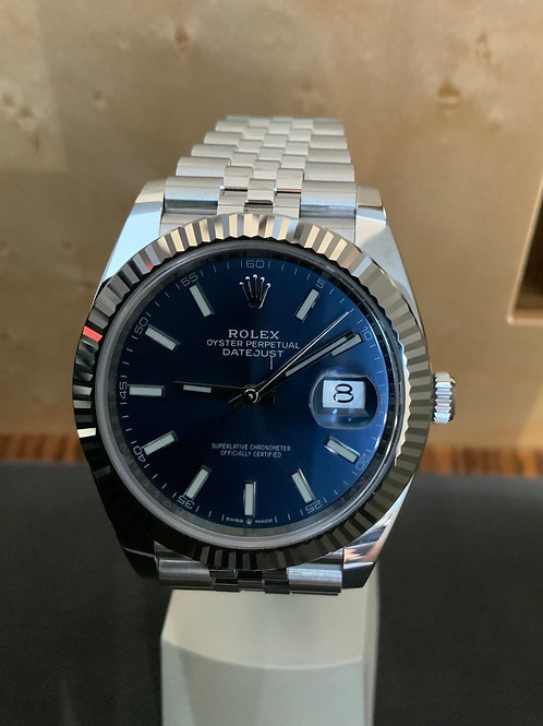 Rolex Datejust NEW LC 100 - Blue