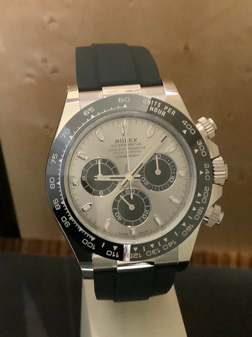 Rolex Daytona - Weissgold - Oysterflex - NEW