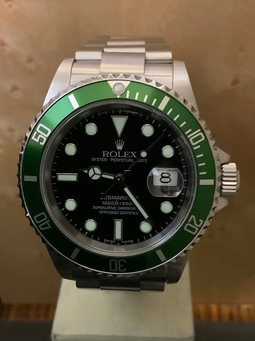 "Rolex ""Submariner ""Kermit"" FLAT FOUR - LC 100"
