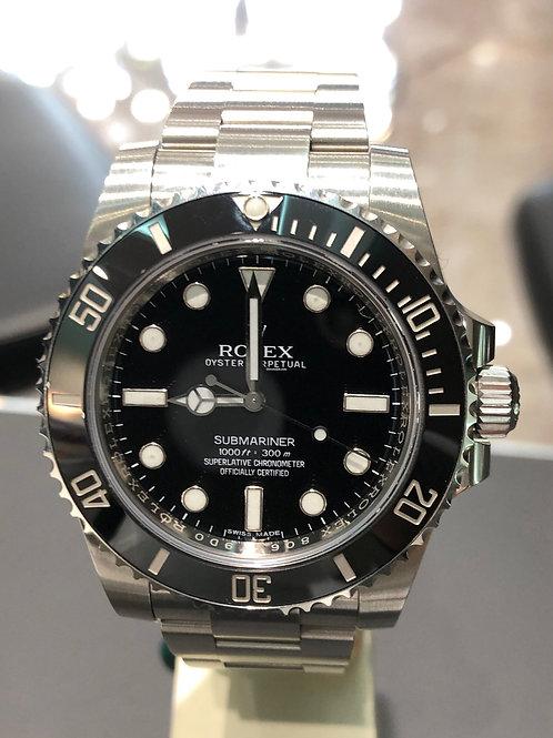 Rolex Submariner (No Date) - 2017