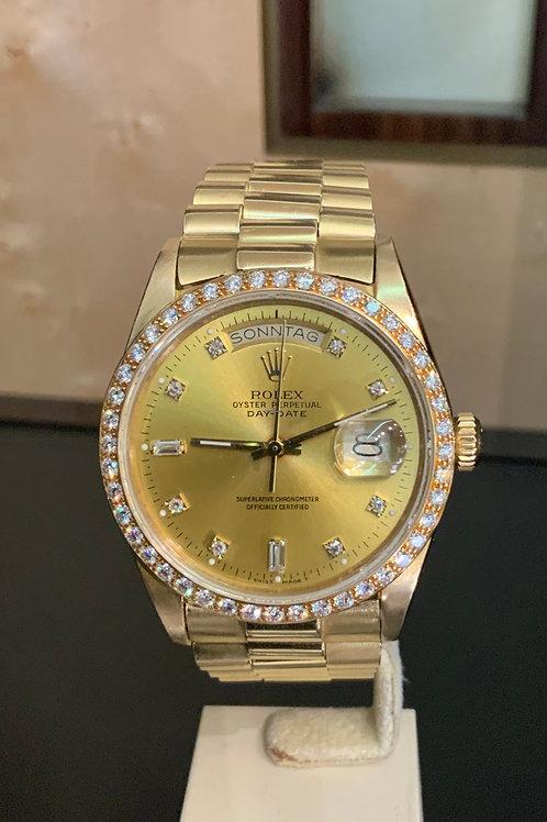 Rolex Day-Date FACTORY DIAMOND
