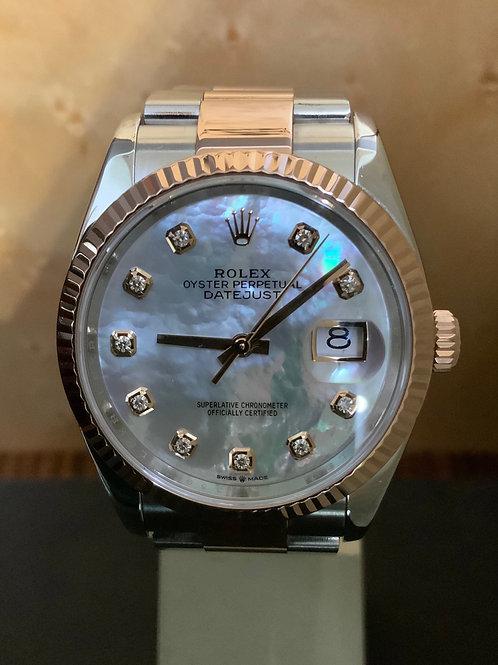 Rolex Datejust - Bicolor MOP