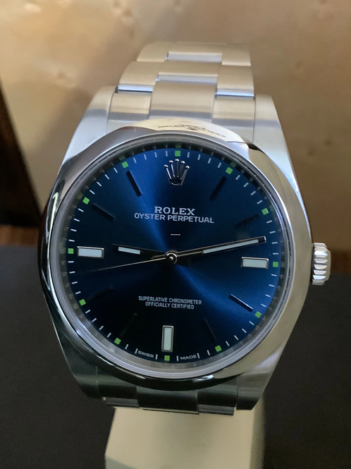 Rolex Oyster Perpetual - Blue