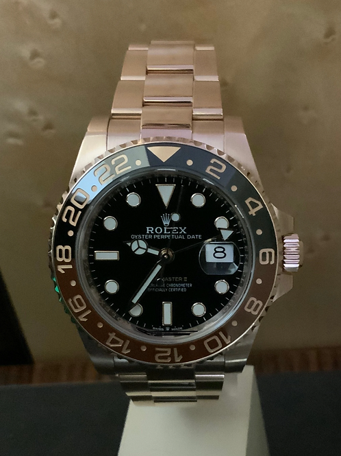 GMT-Master II - Rosegold - LC 100
