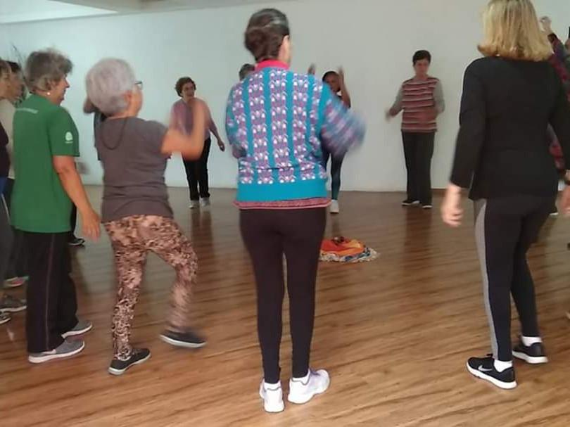 Atividade com idosos