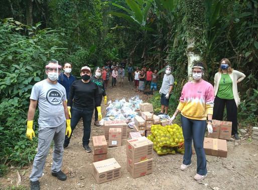 Instituto Akhanda e parceiros doam toneladas de alimentos para povos indígenas