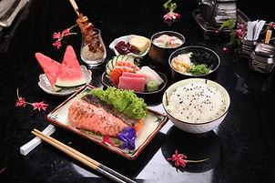 03_Salmon Mentaiyaki & Sashimi Set.JPG