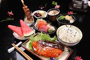 09_Salmon Teriyaki & Sashimi Set.JPG