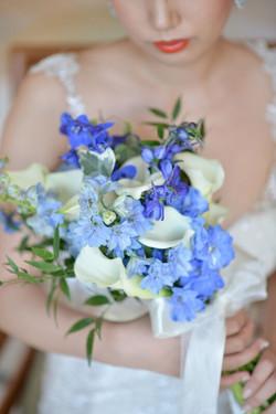 Blue Blue Flowers