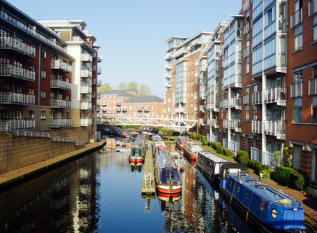 Spending time on Birmingham's Canals will make you happier and healthier!