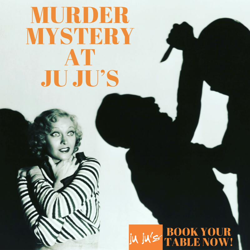 Murder Mystery Event Ju Ju's Cafe Birmingham Brindley Place