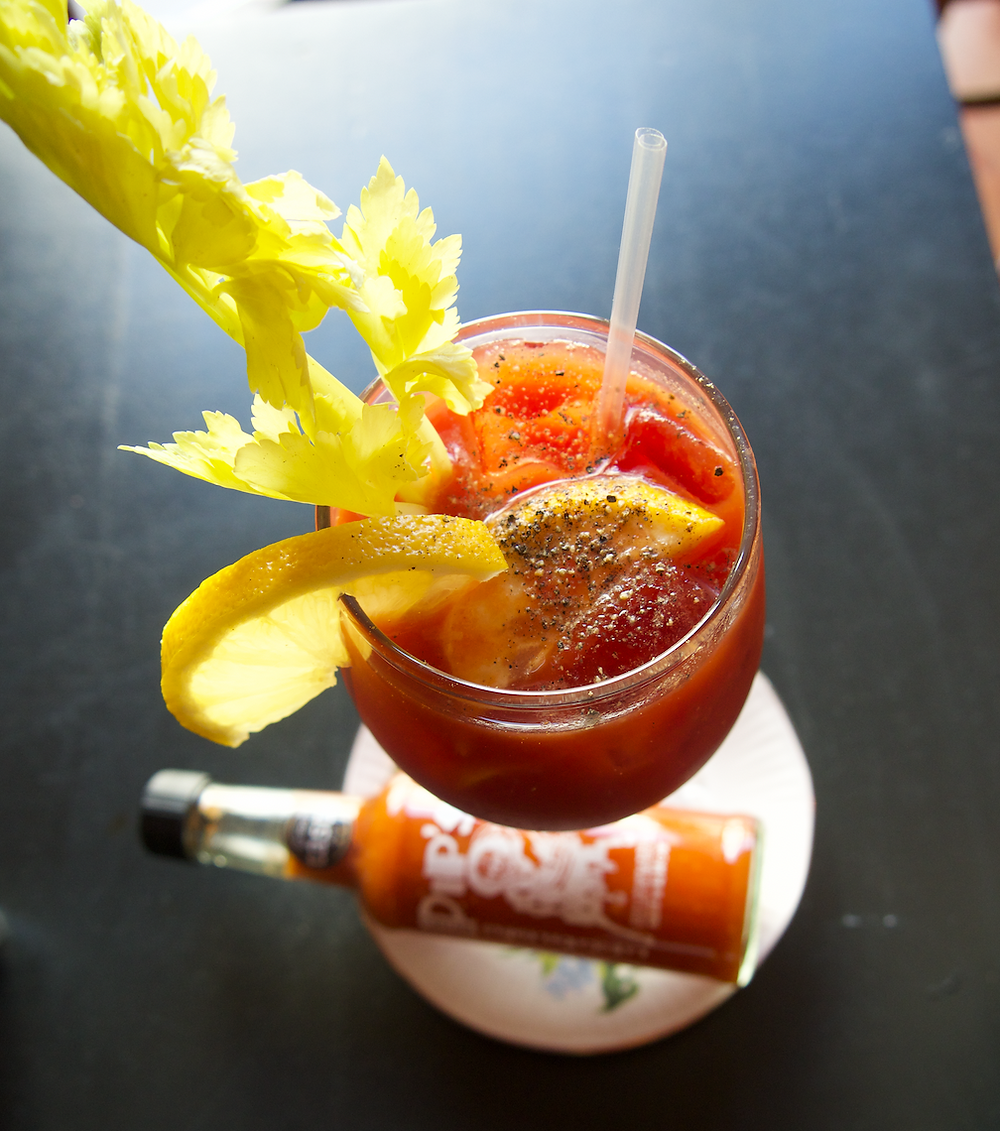 Brummie Bloody Mary brunch restaurant Birmingham Pip's Hot Sauce