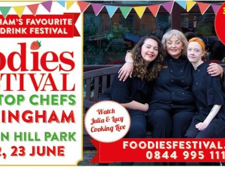Come and see us at the Birmingham Foodies Festival!