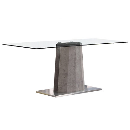 Shard Dining Table in Grey