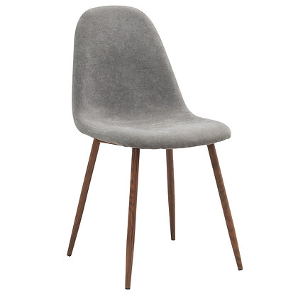 Lyna Side Chair in Grey  4pk