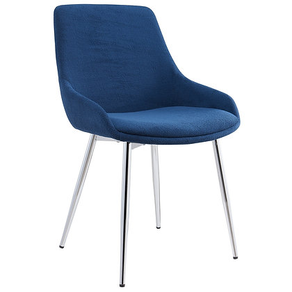 Cassidy Side Chair in Blue 2pk