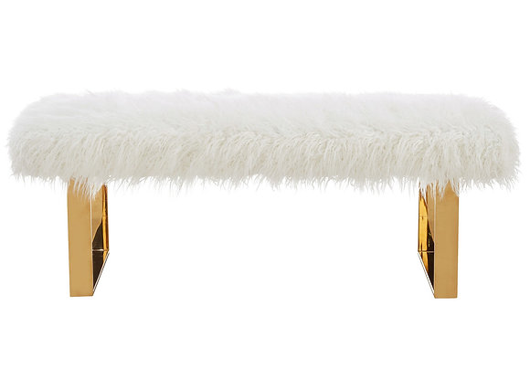 Angelica Double Bench in White