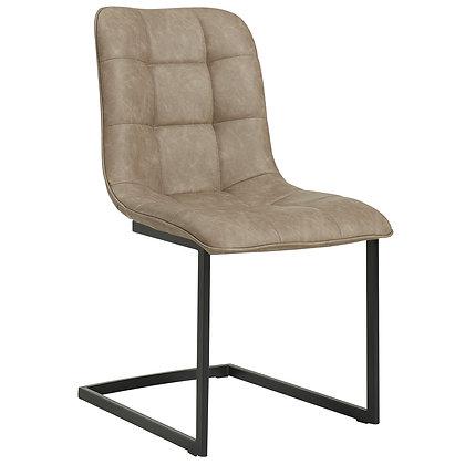 Harper Side Chair in Beige 2pk