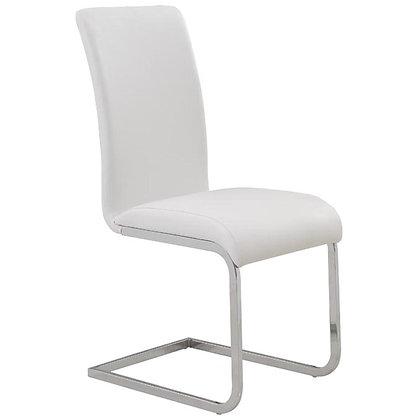 Maxim Side Chair in White 2pk