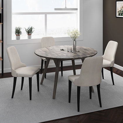 Mira/Zima 5pc Dining Set