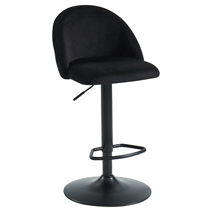 Sataro Air Lift Stool in Black