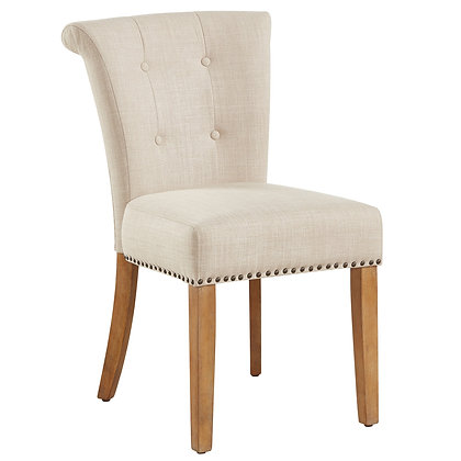 Selma Side Chair in Beige 2pk