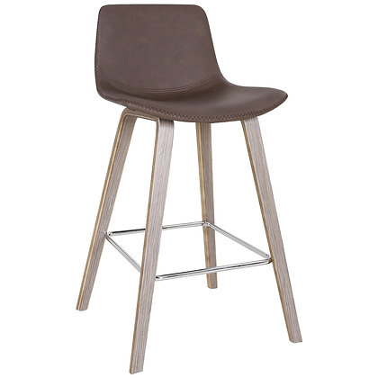 "Durant 26"" Counter Stool in Brown 2pk"