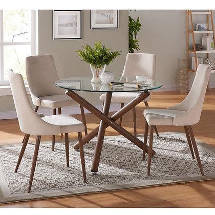 Rocca/Cora 5pc Dining Set