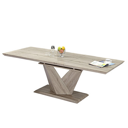 Eclipse Dining Table in Washed Oak