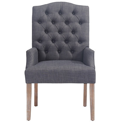 Lucian Accent Chair in Grey