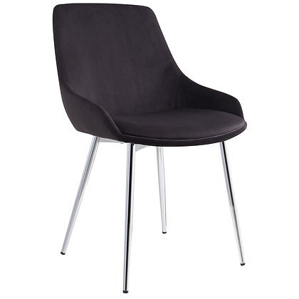 Cassidy Side Chair in Black 2pk