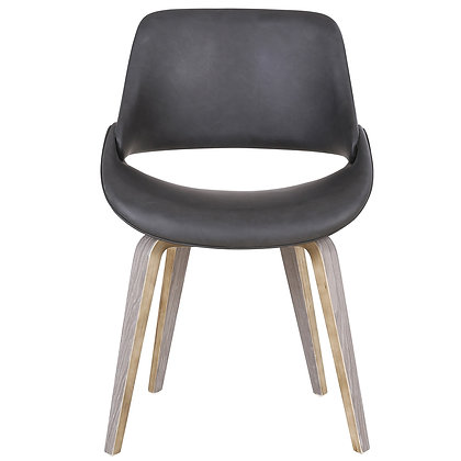 Serano Accent Chair in Charcoal