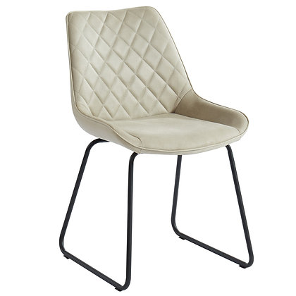 Calvin Side Chair in Taupe 2pk