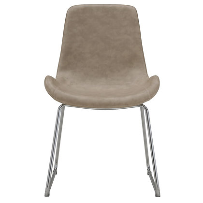 Otis Accent Chair in Ivory