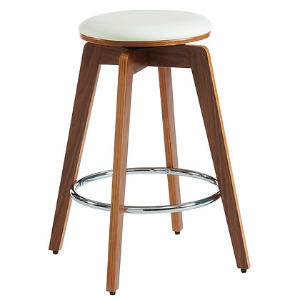 "Rotman 26"" Counter Stool in Ivory 2pk"