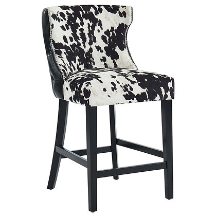 Angus 26'' Counter Stool in Black 2pk