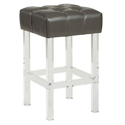 "Noor 26"" Counter Stool in Grey"
