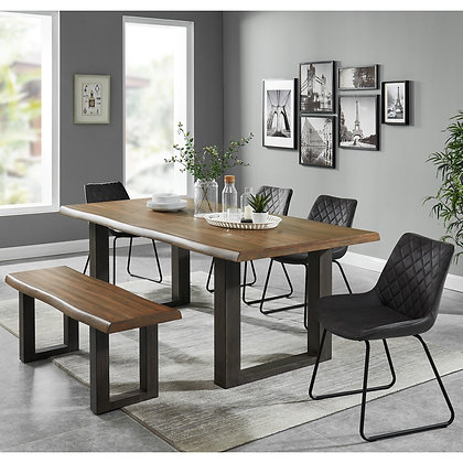 Forrest/Calvin 6pc Dining Set