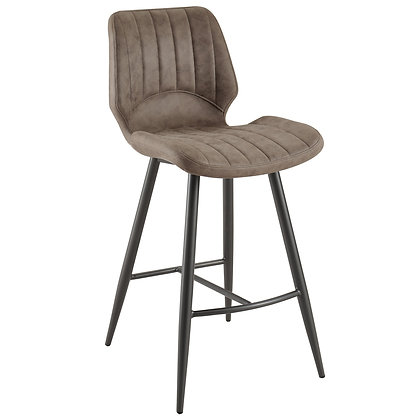 "Aspira 26"" Counter Stool in Brown 2pk"