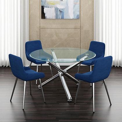 Solara II/Cassidy 5pc Dining Set