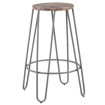 Cliff 26'' Counter Stool in Grey 4pk