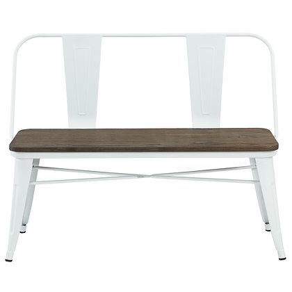 Modus Double Bench in White