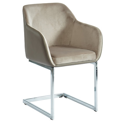 Modena Side Chair in Taupe 2pk